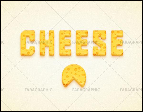 آموزش ایلوستریتور ساخت افکت متن پنیری