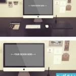 imac mock up cat 150x150 دانلود ماک آپ فتوشاپ کامپیوتر iMac – آی مک