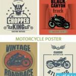 motorcycle poster cat 150x150 دانلود وکتور طرح های پوستر موتور سیکلت