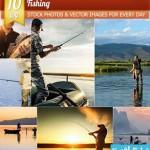 fishing cat 150x150 دانلود تصاویر استوک ماهیگیری – Fishing Stock