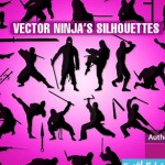 ninja cat 150x150 دانلود وکتور های نینجا – Ninja Vectors