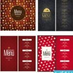 restaurant menu cat 150x150 دانلود وکتور طرح های منوی رستوران