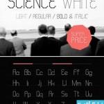 science white cat 150x150 دانلود فونت انگلیسی گرافیکی Science White