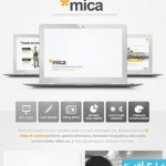 mica cat 150x150 دانلود قالب پاورپوینت شرکتی Mica