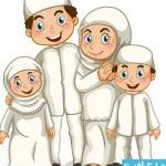 musilm fam cat 150x150 دانلود وکتور های خانواده مسلمان