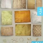 وکتور های تکسچر و پس زمینه کاغذ قدیمی