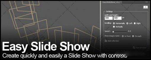 پلاگین افتر افکت ساخت اسلاید شو آسان Easy Slideshow