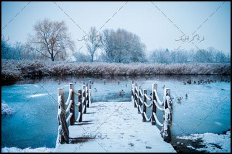 دانلود والپیپر دسکتاپ زمستان و برف - شماره 5