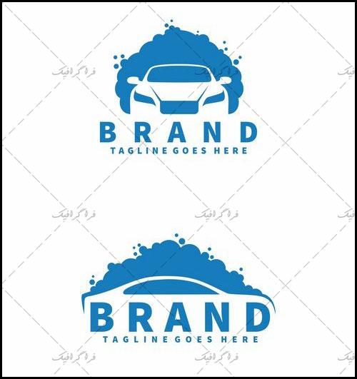 دانلود 2 لوگو کارواش لایه باز وکتور - Carwash Logos