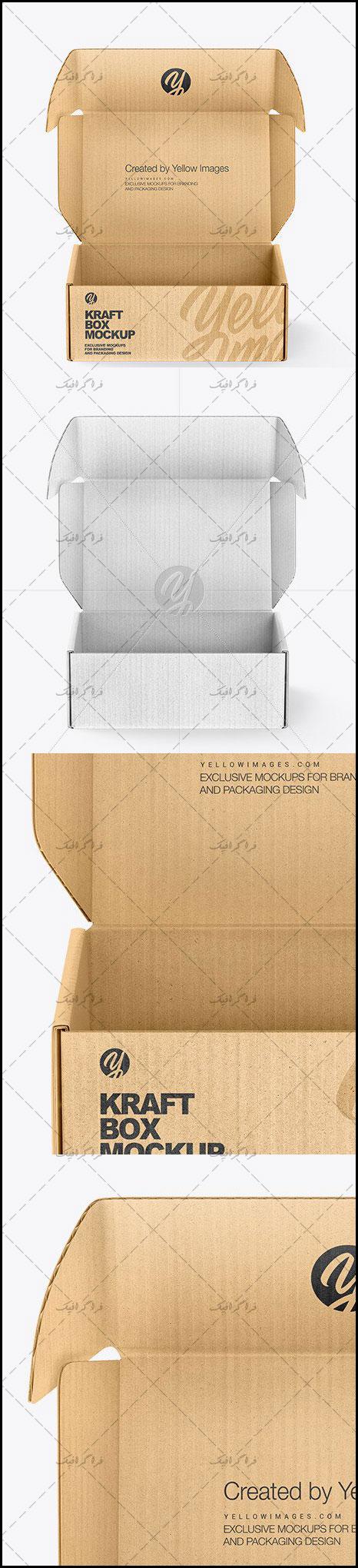 دانلود ماک آپ فتوشاپ جعبه مقوایی