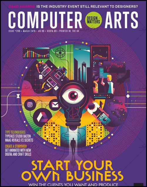 دانلود مجله گرافیک Computer Arts - مارچ 2019