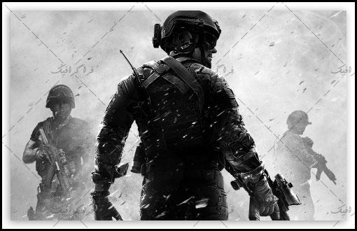 دانلود والپیپر دسکتاپ بازی Call Of Duty Modern Warfare 3