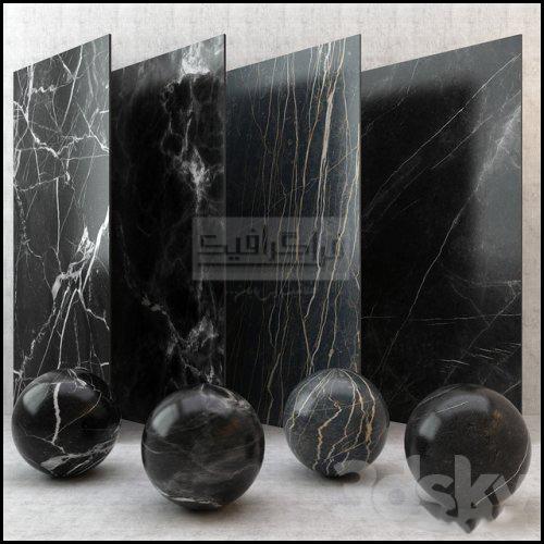 دانلود مدل سه بعدی تکسچر سنگ مرمر سیاه