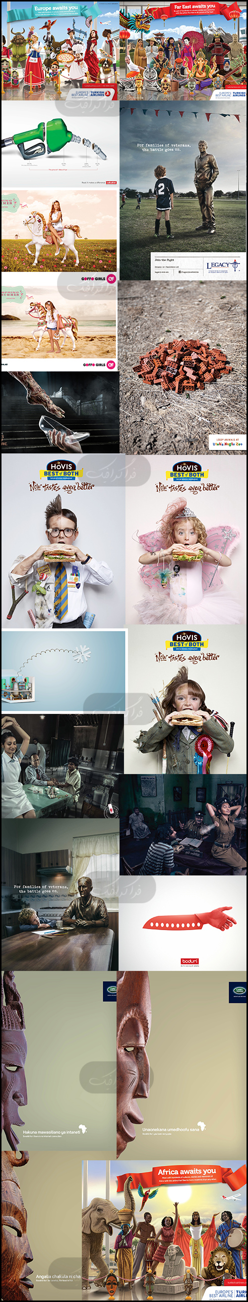 دانلود تصاویر تبلیغاتی خلاقانه - شماره 17
