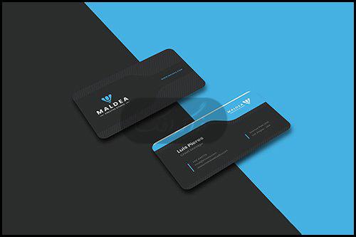 دانلود کارت ویزیت شرکتی لایه باز فتوشاپ - شماره 330