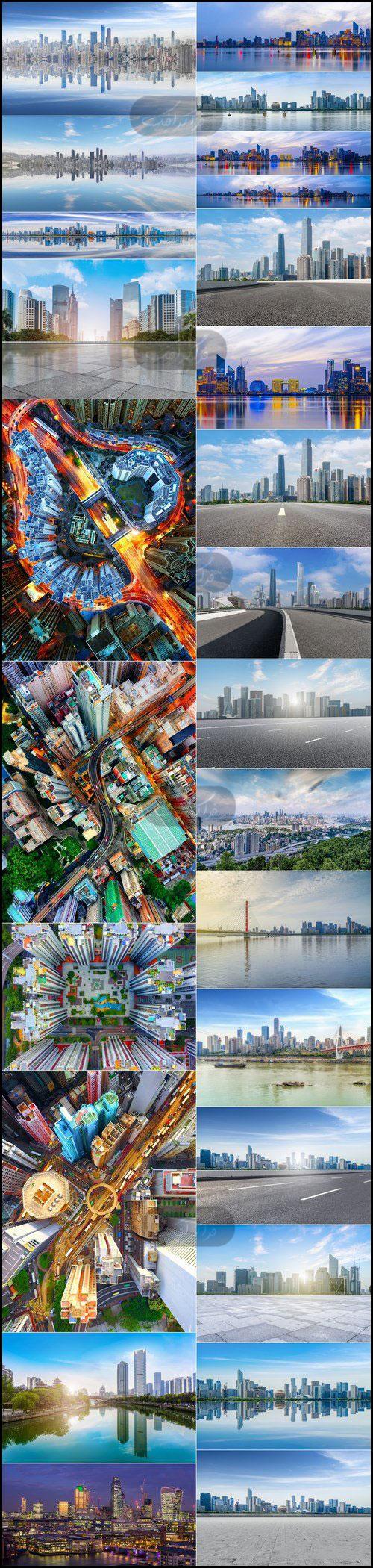 دانلود تصاویر استوک معماری مدرن شهری