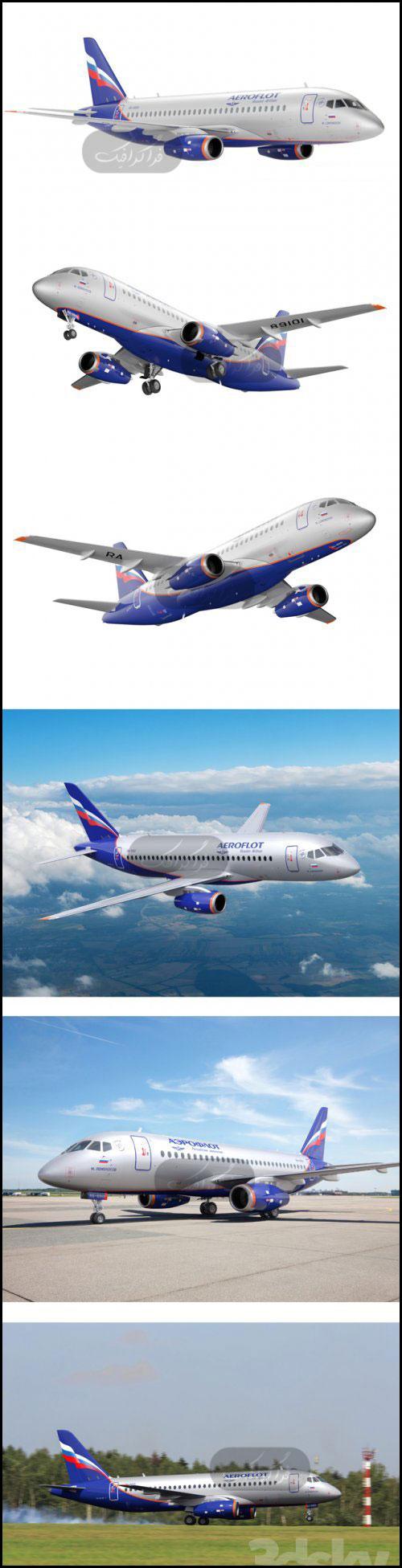 دانلود مدل سه بعدی هواپیما - شماره 2
