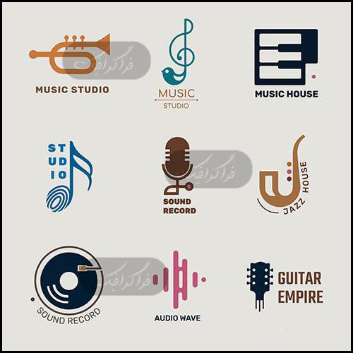 دانلود لوگو های موسیقی Music Logos - شماره 3