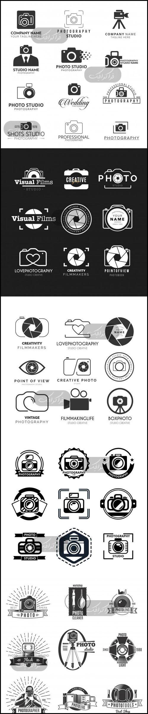 دانلود لوگو های عکس و دوربین عکاسی - شماره 8