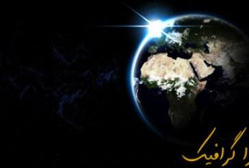آموزش فتوشاپ ساخت تصویر کره زمین