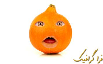 آموزش فتوشاپ قرار دادن صورت روی میوه