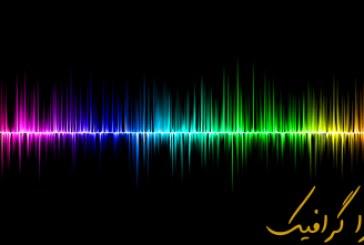 آموزش فتوشاپ ساخت موج صدا انتزاعی
