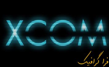 آموزش فتوشاپ ساخت افکت متن XCOM
