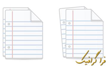 آموزش ایلوستریتور ساخت آیکون پرونده متنی