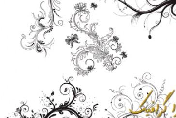 وکتور گلدار – شماره 4