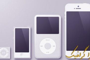 وکتور محصولات اپل – ماک آپ