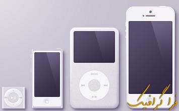 وکتور محصولات اپل - ماک آپ