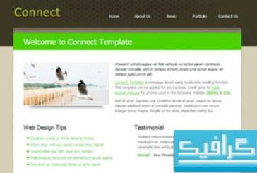 دانلود قالب وب سایت Connect