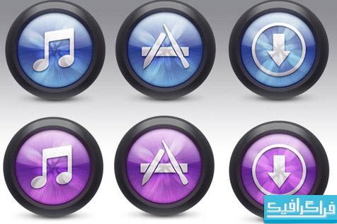 دانلود آیکون های iTunes