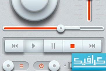 فایل لایه باز پخش کننده موسیقی
