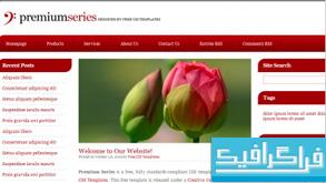 دانلود قالب وب سایت Premium Series