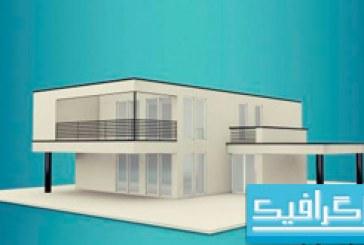 مدل سه بعدی ویلا