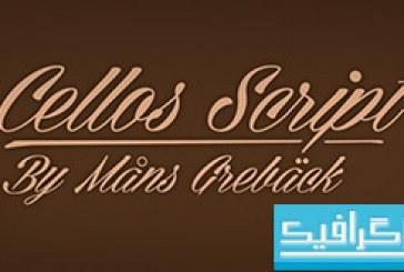 دانلود فونت انگلیسی Cellos Script