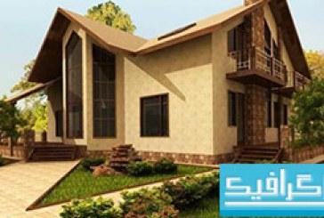 مدل سه بعدی خانه