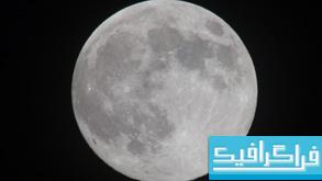 تصویر استوک ماه