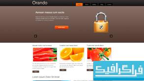 دانلود قالب وب سایت Orando