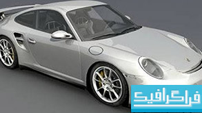 مدل سه بعدی اتومبیل پورشه