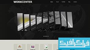 دانلود قالب وب سایت Workcenter