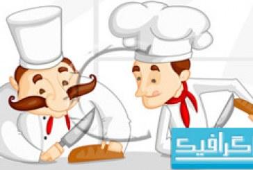وکتور های آشپز