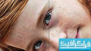 اکشن فتوشاپ نقاشی عکس به روش های مختلف