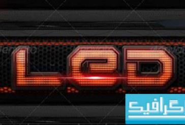 دانلود استایل های LED برای فتوشاپ