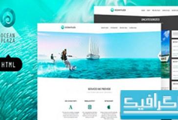 دانلود قالب وب سایت Ocean Plaza