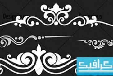 دانلود براش فتوشاپ طرح های تزئینی – 1