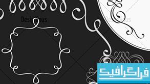 دانلود براش فتوشاپ طرح های تزئینی - 2