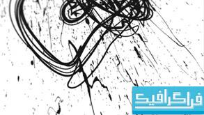 دانلود براش های فتوشاپ خط خطی