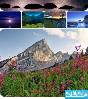 دانلود تصاویر پس زمینه طبیعت